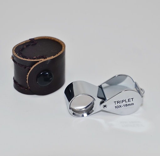 Professional Jeweler's Loupe 10x-18mm