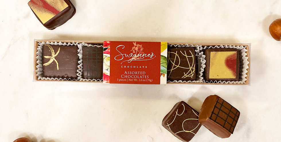 5 Piece Assorted Chocolates