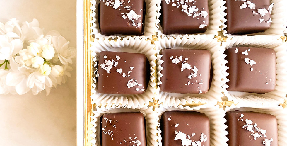 Salted Caramels 12-piece box