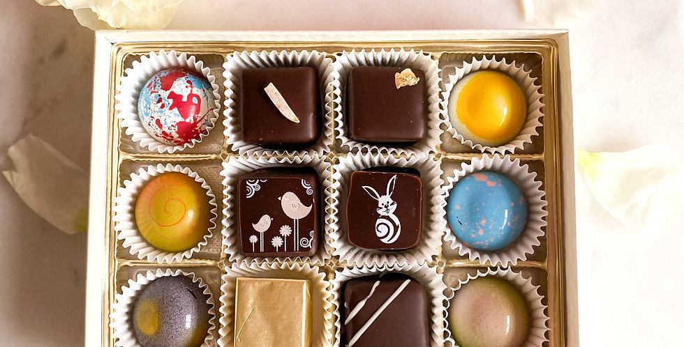 12 Piece Assorted Chocolates