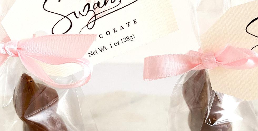 "Solid Milk Chocolate Bunny (2.75"")"