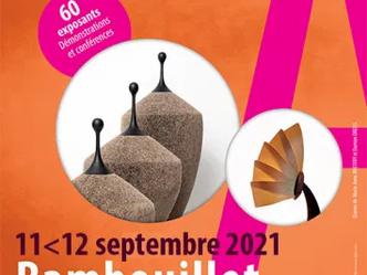 Salon des métiers d'art Rambouillet 11 et 12 Septembre 2021