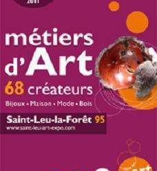 Salon métier d'art St Leu La Forêt 19. 20 et 21 Novembre 2021
