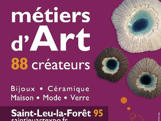 Salon de créateurs- Saint Leu la Fôret du 20 au 22 Novembre 2020