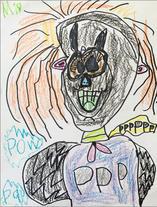 """Audrey B.   """"Letter P Superhero"""""""