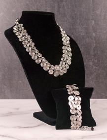 "Rosanne Cuttitta | ""Silver Coils Necklace"""