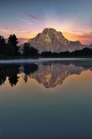 "Craig S. Higgins | ""Grand Tetons Sunset (vertical)"""