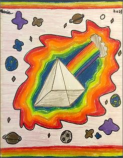 49 Alexandra M - Pyramid of all Rainbows