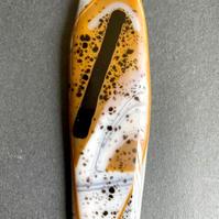 "Marylou Bono | ""Bold Collection - Fused Glass Pendant C"""