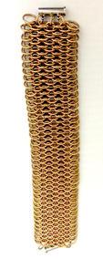 "Kristine Wheeles | ""Copper Dragon Bracelet"""