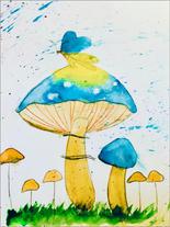 """Arjun S.   """"Cool Mushrooms"""""""