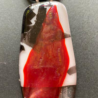 "Marylou Bono | ""Bold Collection - Fused Glass Pendant A"""