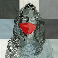 """Annalyn C.   """"Mask Portrait"""""""