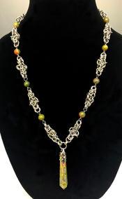 "Kristine Wheeles | ""Viking Knot Necklace"""