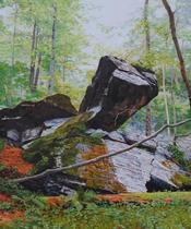 Rocks at Gunpowder Falls II