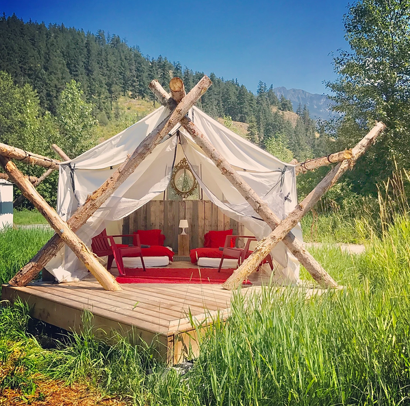 Glamping at it's best