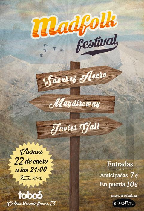 "Sánchez Acero PRESENTA ""Follow the Light"" en el MADFolk Festival"