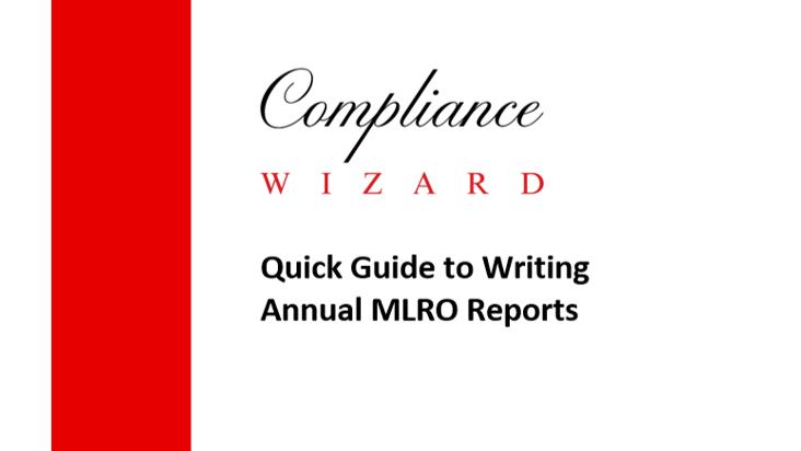 Annual MLRO Reports Guide