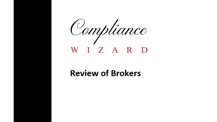 Review of Brokers Template