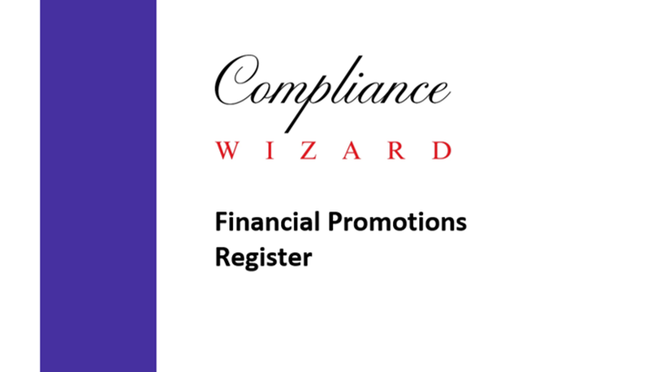 Financial Promotions Register