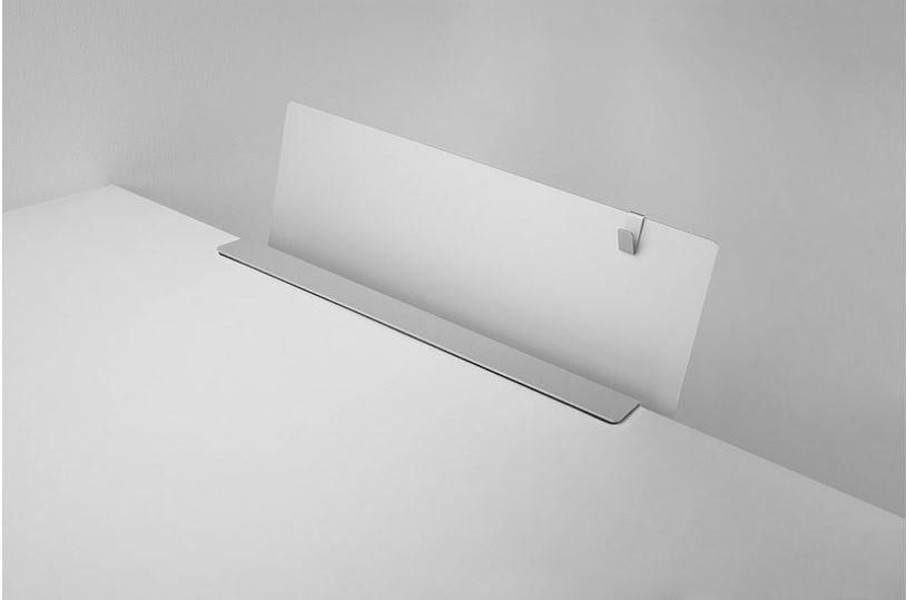 Desk Organizer Shelf with Cable Holder - 12