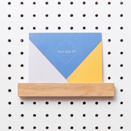 Pegboard Picture Shelf