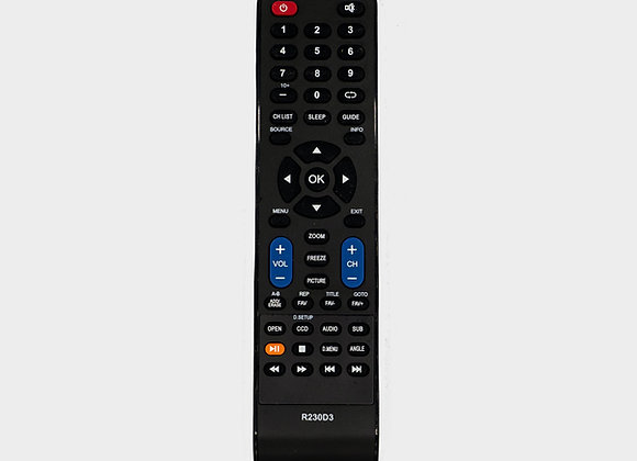 Transit TV DVD Remote Control