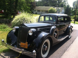 It's not every day you get called on a road call for a dead 1936 Packard v12 limo