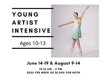 Young Artist Summer Dance Intensive
