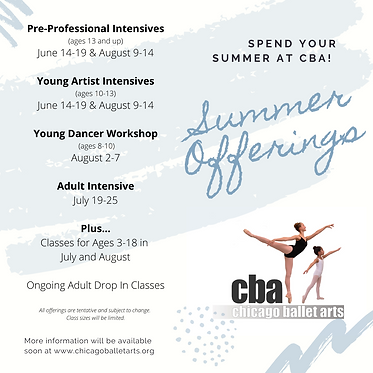 Summer Dance Intensives 2021