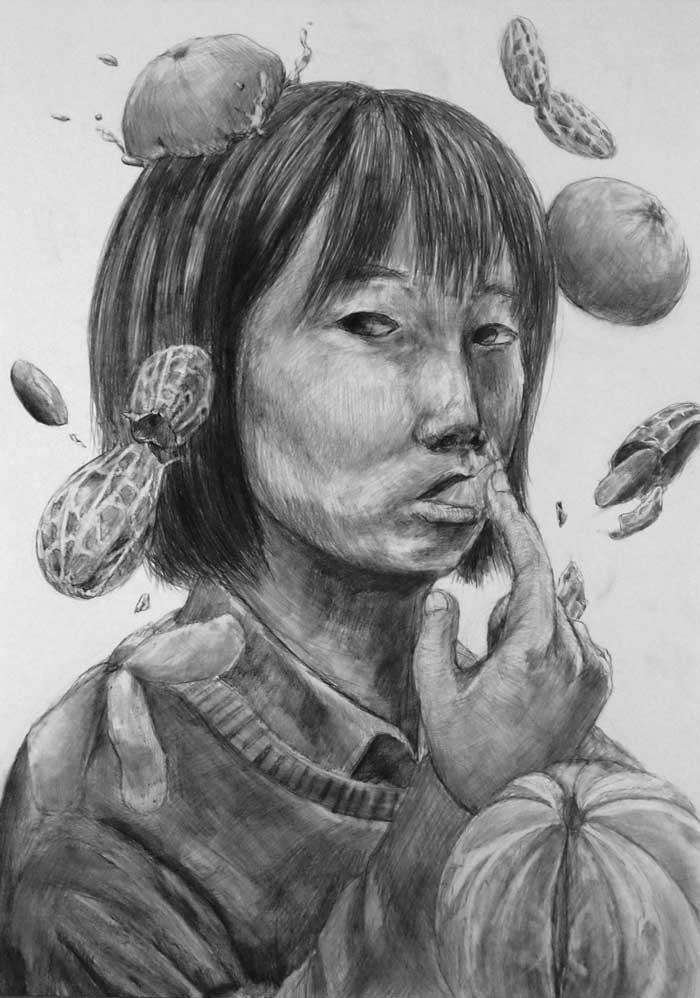 北海道教育大学/美術デザイン合格再現作品