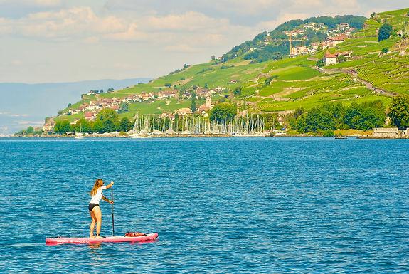 Découverte du Lavaux en Stand up paddle