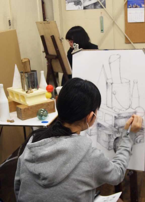 小・中学生コース制作風景1