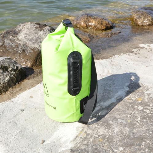 1d4bcaab3c Sac à dos étanche de 10 Litres avec possibilité de l'utiliser comme sac à  main et en bandoulière disponible en Vert, Bleu clair, Rose et Jaune