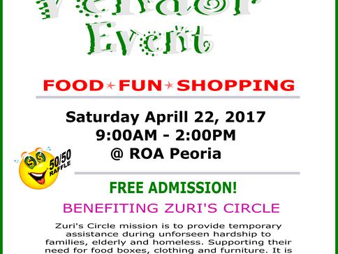 Zuri's Circle Fundraiser Vendor Event