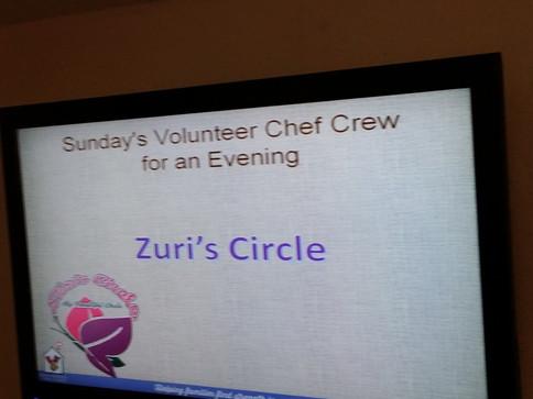 Zuri's Circle Chef Crew
