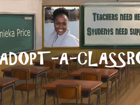 2016 Zuri's Circle Adopt A Classroom