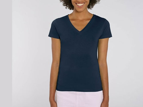 Tee-shirt manches courtes col V - LES CLASSIQUES