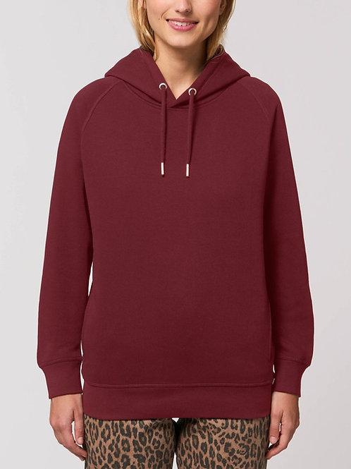 Sweatshirt BIO Femme avec capuche SIDER - Coloris Classiques