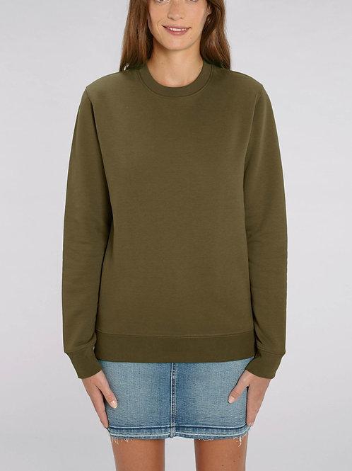 Sweat-shirt Bio Femme Uni-  CHANGER - coloris classique
