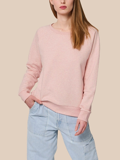 Sweat-shirt Bio Femme Ample -  DAZZLER - chinés