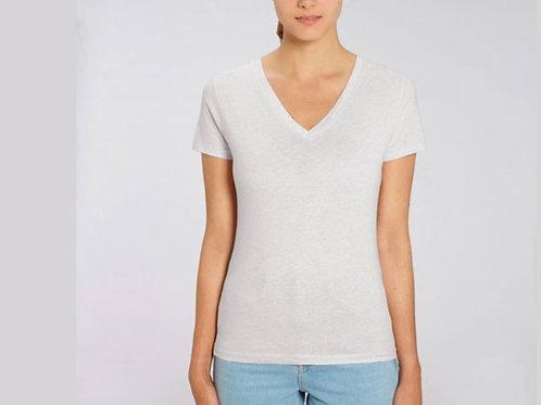 Tee-shirt manches courtes col V - LES CHINÉS