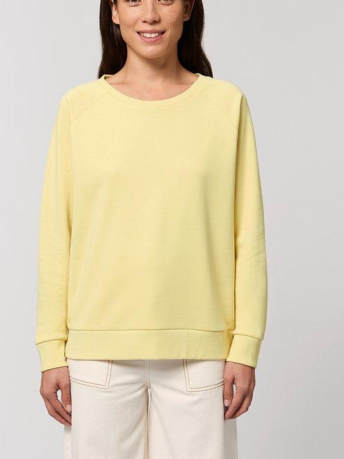 Sweat-shirt Bio Femme Ample -  DAZZLER - pastels