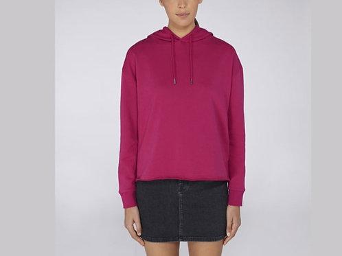 Sweatshirt bio - coupe large - Court - Bords francs