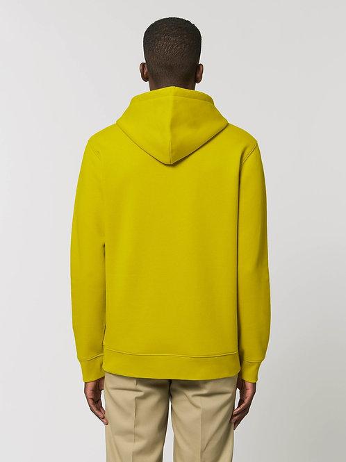 Sweatshirt BIO Homme avec capuche -  Coloris Chauds