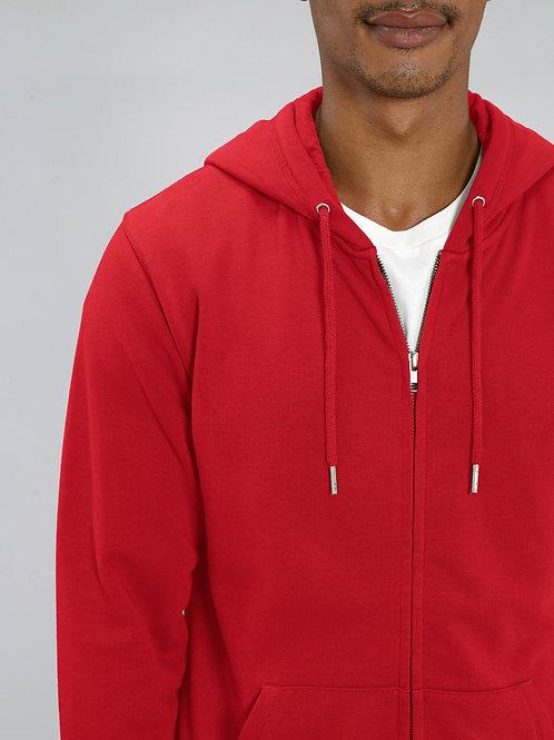 Sweat à Capuche bio Zip Homme - Connector - coloris classiques
