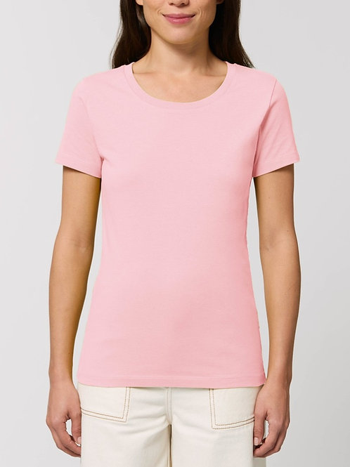 Tee-shirt manches courtes col rond -  LES COLORIS PASTELS