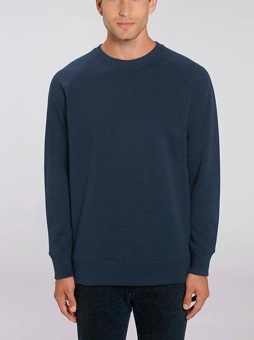 Sweat-shirt Bio Homme Uni-  STROLLER - coloris classique