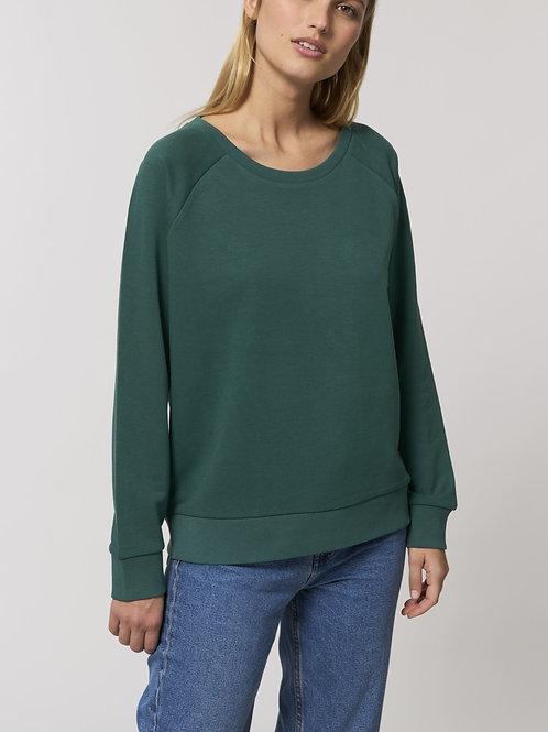 Sweat-shirt Bio Femme Ample -  DAZZLER - classiques