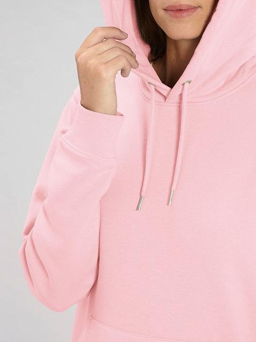 Sweatshirt BIO FEMME CRUISER avec capuche -  Coloris Pastels